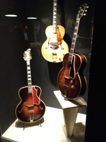 Guitar on Display in Paris 2